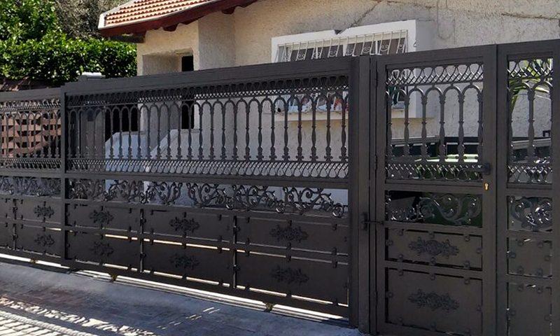להפליא שערים מברזל בהתאמה אישית | ברזל עתיק IE-63